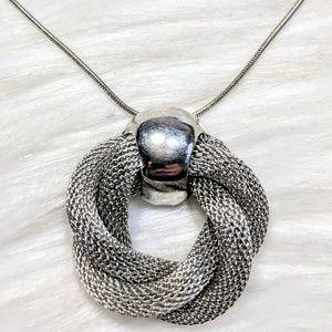 Mesh Infinity Pendant